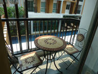 1 berdroom Apartmenrt with car hire 999 baht per day
